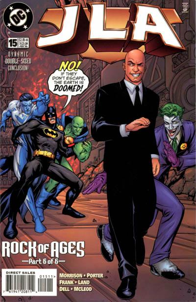 Cover for JLA (DC, 1997 series) #15