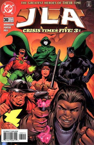 Cover for JLA (DC, 1997 series) #30