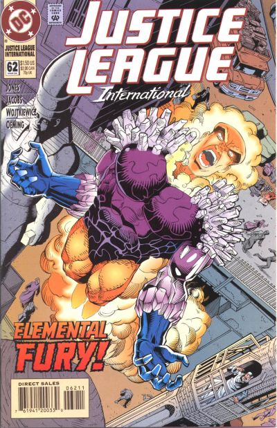 Cover for Justice League International (DC, 1993 series) #62