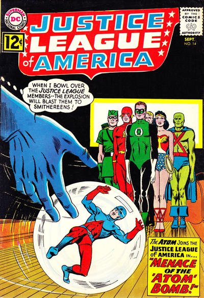 Cover for Justice League of America (DC, 1960 series) #14