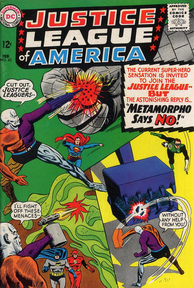Cover for Justice League of America (1960 series) #42