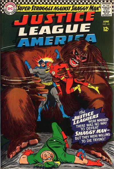 Cover for Justice League of America (1960 series) #45