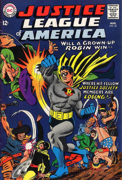 Cover for Justice League of America (DC, 1960 series) #55