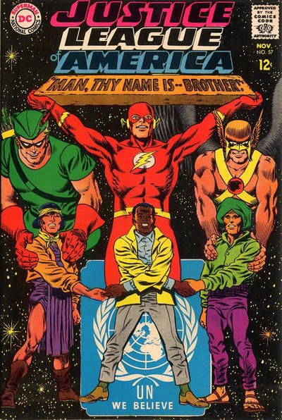 Cover for Justice League of America (1960 series) #57