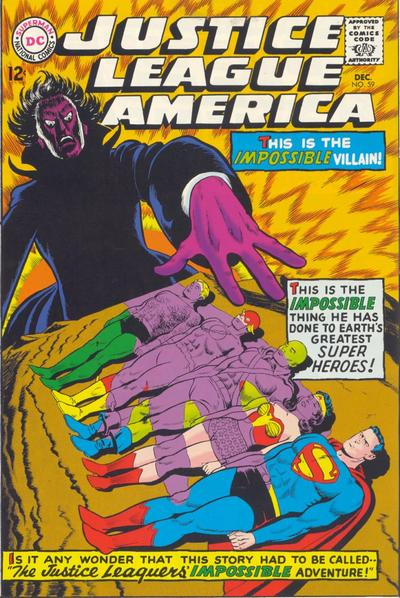 Cover for Justice League of America (DC, 1960 series) #59