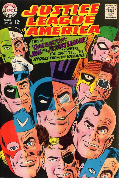 Cover for Justice League of America (DC, 1960 series) #61