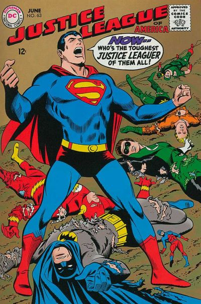 Cover for Justice League of America (DC, 1960 series) #63