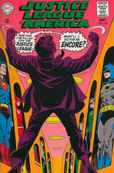 Cover for Justice League of America (DC, 1960 series) #65