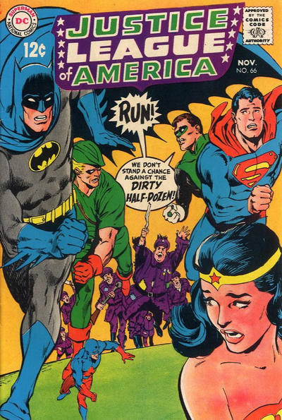 Cover for Justice League of America (DC, 1960 series) #66