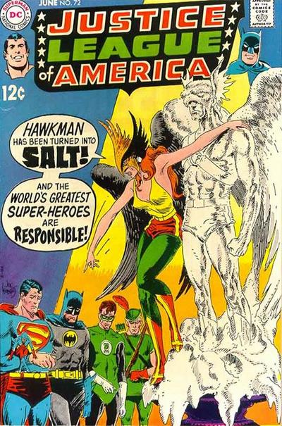 Cover for Justice League of America (1960 series) #72