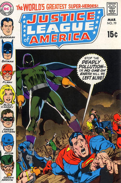 Cover for Justice League of America (DC, 1960 series) #79