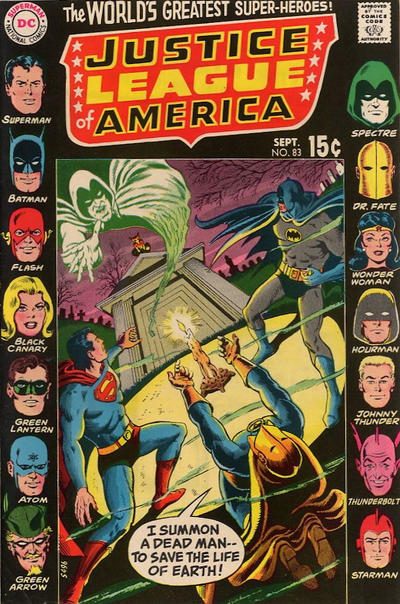 Cover for Justice League of America (DC, 1960 series) #83