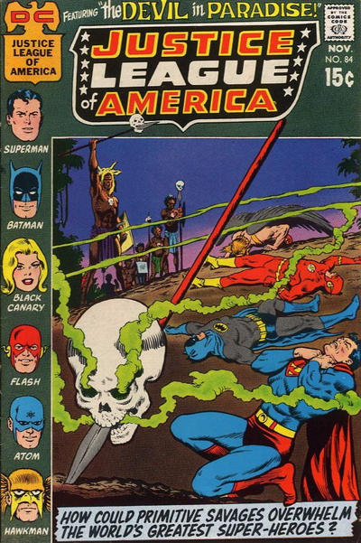 Cover for Justice League of America (DC, 1960 series) #84