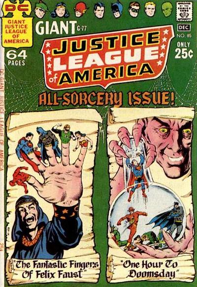Cover for Justice League of America (DC, 1960 series) #85