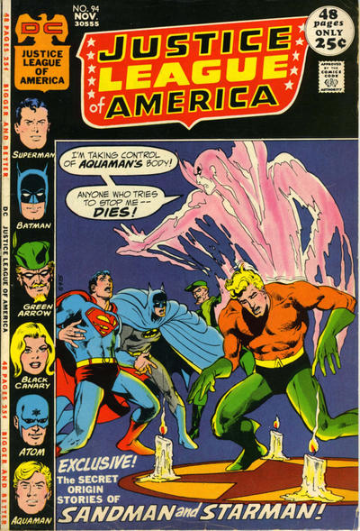 Cover for Justice League of America (1960 series) #94