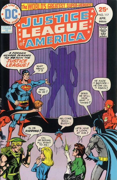 Cover for Justice League of America (DC, 1960 series) #117