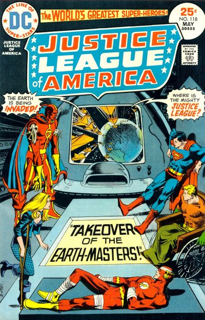 Cover for Justice League of America (DC, 1960 series) #118