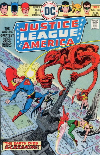 Cover for Justice League of America (DC, 1960 series) #129