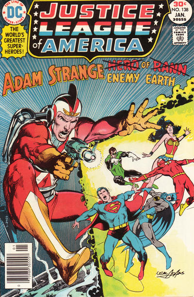 Cover for Justice League of America (1960 series) #138