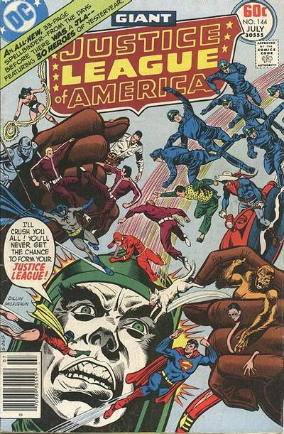 Cover for Justice League of America (1960 series) #144