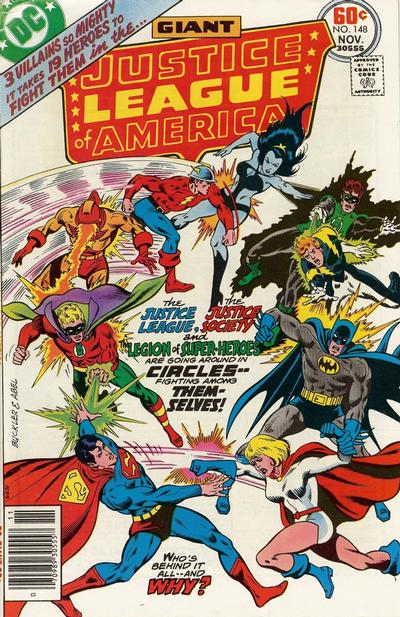 Cover for Justice League of America (1960 series) #148