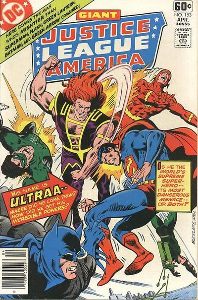 Cover for Justice League of America (DC, 1960 series) #153