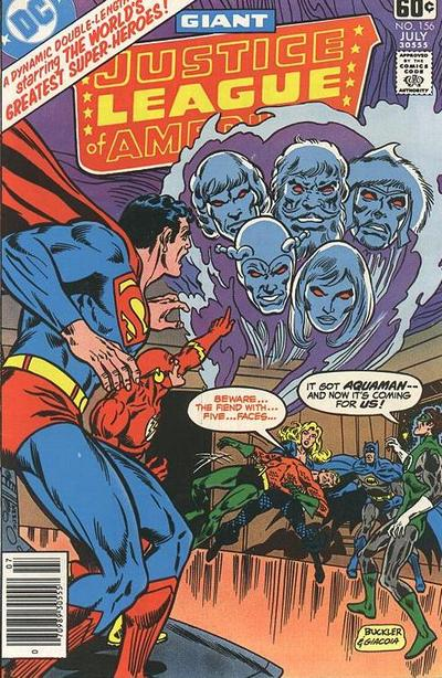 Cover for Justice League of America (DC, 1960 series) #156