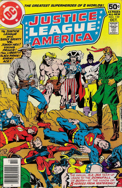 Cover for Justice League of America (DC, 1960 series) #159