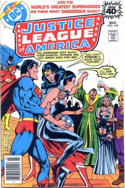 Cover for Justice League of America (DC, 1960 series) #164 [Regular Edition]