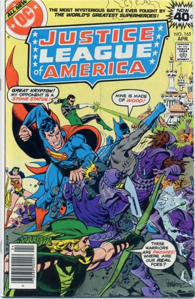 Cover for Justice League of America (DC, 1960 series) #165