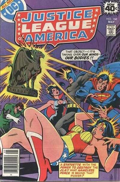 Cover for Justice League of America (DC, 1960 series) #166 [Regular Edition]