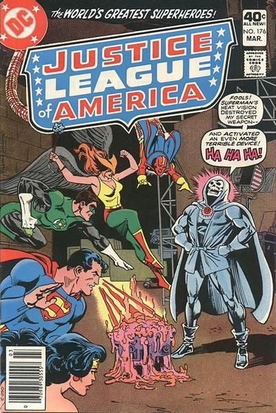 Cover for Justice League of America (DC, 1960 series) #176 [Whitman Variant]