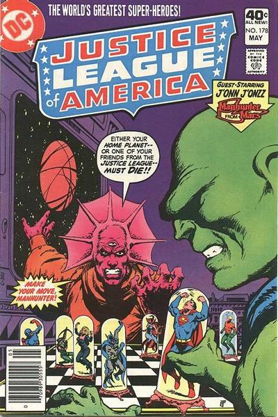 Cover for Justice League of America (DC, 1960 series) #178