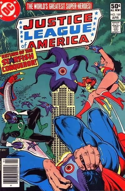 Cover for Justice League of America (DC, 1960 series) #189 [Newsstand]