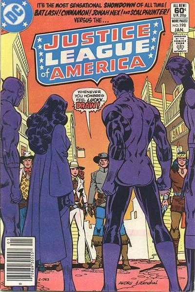 Cover for Justice League of America (DC, 1960 series) #198