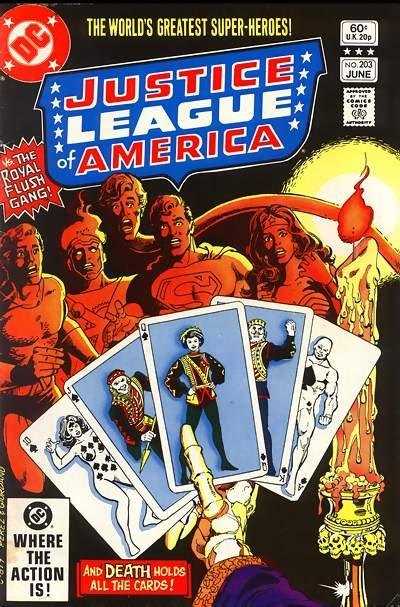 Cover for Justice League of America (DC, 1960 series) #203