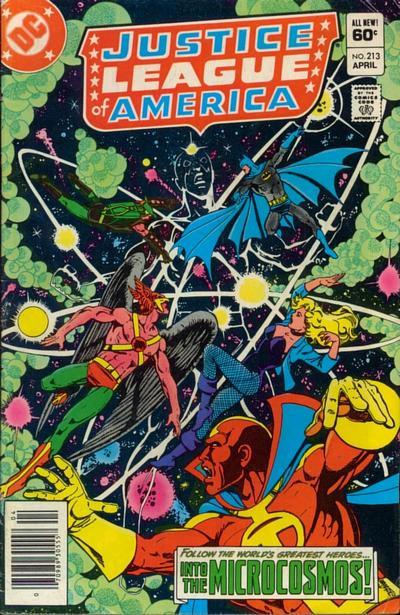 Cover for Justice League of America (DC, 1960 series) #213 [Direct-Sales]