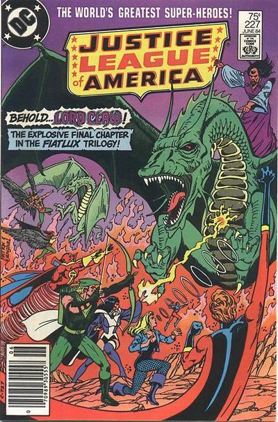 Cover for Justice League of America (DC, 1960 series) #227 [direct-sales]