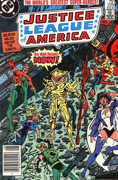 Cover for Justice League of America (1960 series) #229