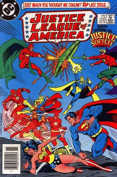Cover for Justice League of America (1960 series) #232