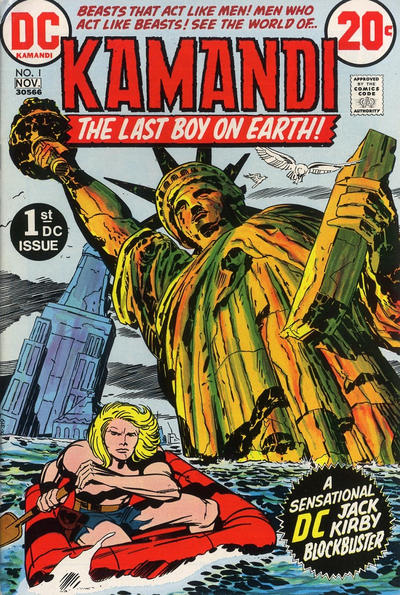Cover for Kamandi, The Last Boy on Earth (DC, 1972 series) #1