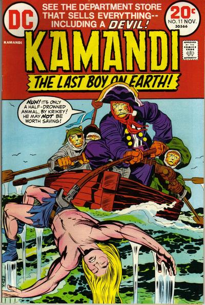 Cover for Kamandi, The Last Boy on Earth (DC, 1972 series) #11
