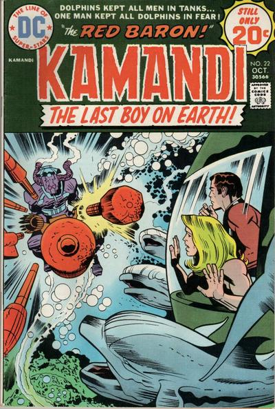 Cover for Kamandi, The Last Boy on Earth (DC, 1972 series) #22