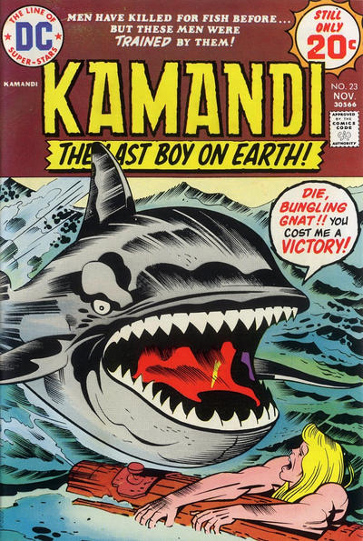 Cover for Kamandi, The Last Boy on Earth (DC, 1972 series) #23