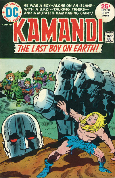 Cover for Kamandi, The Last Boy on Earth (DC, 1972 series) #31
