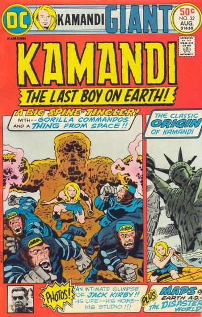 Cover for Kamandi, The Last Boy on Earth (DC, 1972 series) #32