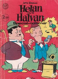 Cover for Helan och Halvan Specialnummer (1968 series) #[1969]