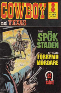 Cover Thumbnail for Cowboy (Semic, 1970 series) #8/1971