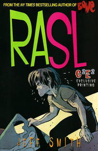 Cover Thumbnail for RASL (Cartoon Books, 2008 series) #6 [C2E2 Exclusive Cover by Jeff Smith]