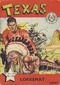 Cover Thumbnail for Texas (Se-Bladene, 1954 series) #18/1970